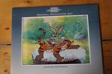 "Walt Disney TV Animation CEL Original Production Winnie The POOH"" Rabbit, TIGER"