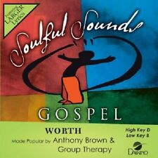 Anthony Brown - Worth -  Accompaniment CD NEW