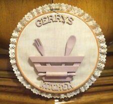 """Gerrys Kitchen"" Hanging Wall Art (Gerry Geraldine)"