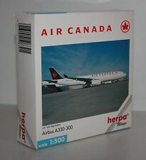 Herpa Wings-AIR CANADA-Airbus A330-300-m/w Reg.-Scale 1:500-very rare #508391