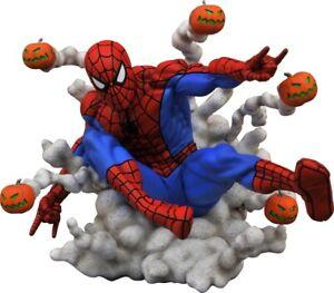 Spider-Man Pumpkin Bombs PVC Diorama Marvel Comic Gallery