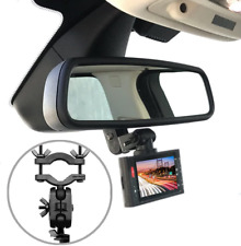 Dash Cam Mirror Mount Kit for 95% Dash Cam and Gps 360 Degree Rotation Design