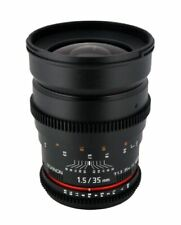 Rokinon 35mm T1.5 AS IF UMC Full Frame Cine Lens for Sony E Mount CV35-NEX