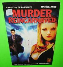 Murder Reincarnated DVD Screener Promo Izabella Miko Christian De La Fuente 2003