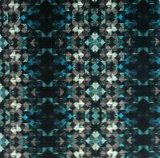 OSBORNE & LITTLE Mathew Williamson Samana Mustique Turquoise Velvet Remnant New