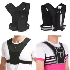Running Vest Bag Phone Bottler Holder Shoulder Pack Outdoor Sport Cycling Unisex