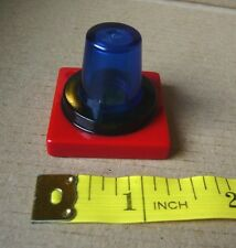 Lego Duplo NEW Red and Blue square replacement cone Light