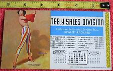 APRIL 1969 SWIM ANYONE VINTAGE CALENDAR NEELY SALES HEWLETT PACKARD GIRLIE