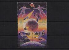RUSSIA SG6358/61, 1992 INTERNATIONAL SPACE YEAR SET MNH BLOCK