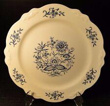 "Homer Laughlin Virginia Rose Dresden Imperial Blue Dinner Plate 10"" 2nd Quality"