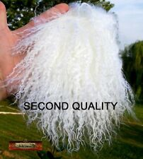 M00055 MOREZMORE Hair Tibetan Lamb Fur Seconds WHITE for Doll Baby Hair Wig