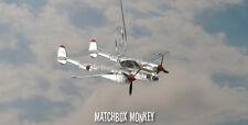 Richard Bong P-38 Lightning Marge USAF WWII MC Christmas Ornament Aircraft