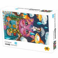 Mini Puzzles Paper Adult Kids 1000Pieces Assembling Jigsaw Games DIY Children