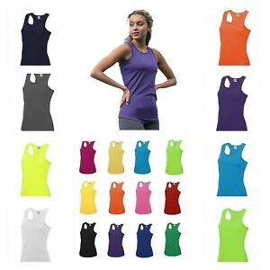 Just Cool Vest-GYM Running Sports Training Ladies Top Yoga SZ 8-16. BNWT