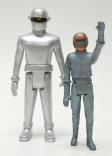 The Day the Earth Stood Still Gort and Klaatu Retro Action Figure Set MONSTARZ
