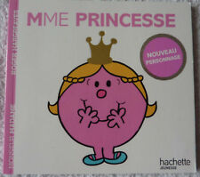 Livre MONSIEUR MADAME  Madame Princesse  Roger Hargreaves Édition Hachette neuf