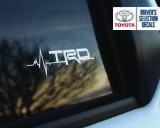 Toyota TRD is in My Blood Fenster Aufkleber Grafik