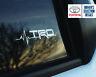 Toyota TRD is in my Blood window sticker decals graphic