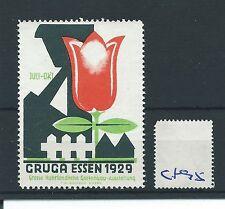 wbc. - CINDERELLA/POSTER - CF95 - EUROPE - GARTENBAU - GRUGA - ESSEN - 1929