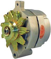 Powermaster Alternator 8-47101; 100 Amp Satin Internal for Ford