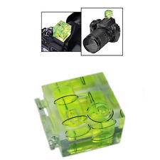 Phot-R PRO Hot Shoe Camera Bubble Spirit Level Triple Three 3-Axis Digital DSLR