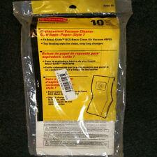 Rubbermaid 9V04-00 Commercial  Paper Bag for Upright Vacuum Cleaner 10 Pack