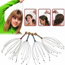 12 Acupuncture Point Head Neck Scalp Octopus Massager Stress Relax Top Tool