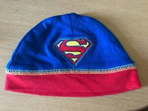 OneSize Superman Toddler Blue Brand New UPF Protection 40+ Hat//Cap