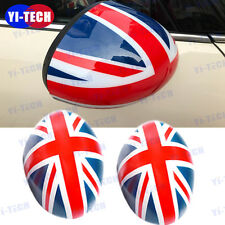 Union Jack Mini Cooper Side Mirror Covers Caps for  Manual Dimming MirrorR55-R61