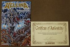 Hellina Seduction (2003 Avatar) Preview Limited Gold Foil Edition W/ COA NM
