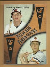 Manny Machado RC 2013 Topps Franchise Forerunners Insert Rookie Card # FF-3