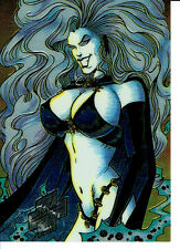 EVIL ERNIE SERIES 1 PROMOTIONAL CARD 2 OF 2, LADY DEATH