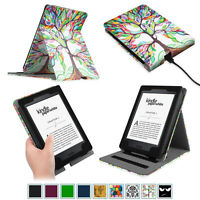 Multi-Viewing Leather Case Cover For All-New Amazon Kindle Paperwhite Sleep/Wake