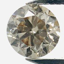 0.40ct Light Champagner SI2 GIA Zertifizierter Brilliant Diamant Brillant