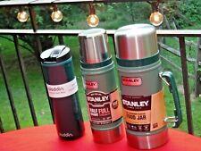 LOT 3 STANLEY FOOD JAR LEAK PROOF Vacuum Insulated BOTTLE ALADDIN COFFEE CUP MUG