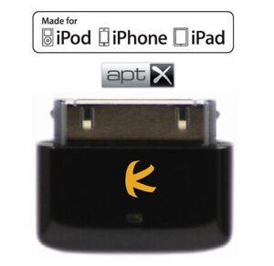 KOKKIA i10s + aptX (Luxurious Black) Tiny Bluetooth iPod Transmitter for iDevice