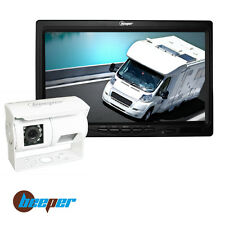 Caméra de recul double optique blanche RWEC200X-BL BEEPER