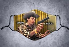 Covered Protection w/Filter Legacy Art Custom Chalino Sanchez Narco Face Mask