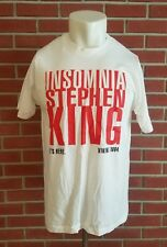 Stephen King Insomnia Book Tour Short Sleeve Mens XL T-Shirt 1994 Vintage Anvil