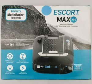 Escort Max 360 Radar Detector, open box