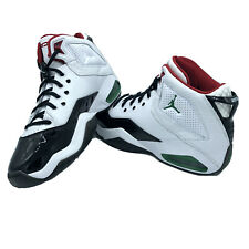 MEN'S Nike JORDAN B'LOYAL BASKETBALL SHOES CW7008-100 BLACK/WHITE/RED/GREEN