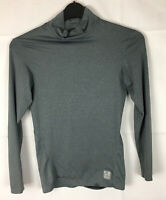Nike Pro Compression Dri Fit Top Grey Long Sleeve Size Small  Gym Workout