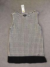 Cotton Blend Formal Geometric Sleeveless Dresses for Women