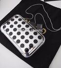 MIMCO Moontide Hardcase Silver & Black Clutch Evening Bag w/tags Dustbag RRP$199