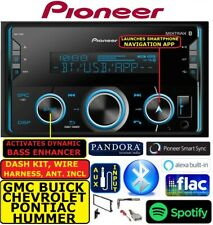 CHEVY-GMC CAR TRUCK VAN SUV PIONEER AM/FM BLUETOOTH USB MP3 RADIO STEREO PKG