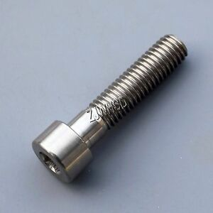 M8 x 35 Titanium Ti Screw Bolt Allen Hex Socket Cap Head Aerospace Grade Bicycle