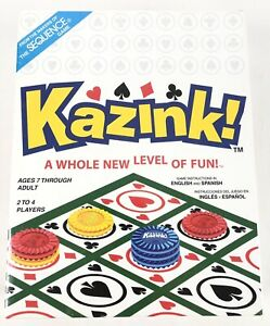 Kazink! A Whole New Level of Fun! Board Game ***BRAND NEW & STILL SEALED***