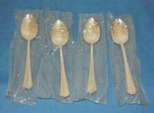 Oneida Silverplate Clairhill Fairhill 1978 Oval Place Soup Spoons - 4 NEW