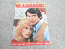 #26 EPI-LOG television magazine ( UNREAD - NO LABEL) VEGAS