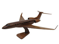 Gulfstream Aerospace GIV G650 650 Mahogany Wood Wooden Model Business Jet New